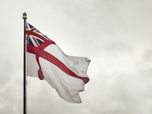 Brytyjska morska flaga Fotografia Stock