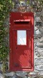 brytyjska pudełkowata pocztę czerwony Zdjęcia Stock