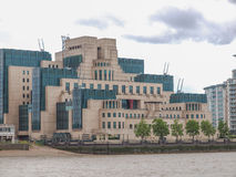Brytyjska tajna służba buidling Obraz Stock