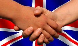 brytyjska transakcji Obraz Royalty Free