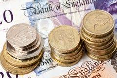 brytyjska waluta Fotografia Royalty Free
