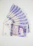 Brytyjska waluta Zdjęcia Royalty Free