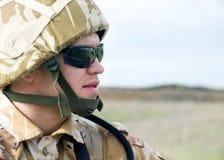 brytyjski żołnierz Fotografia Royalty Free
