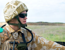brytyjski żołnierz Zdjęcie Royalty Free