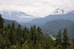 brytyjski Canada Columbia Obrazy Stock