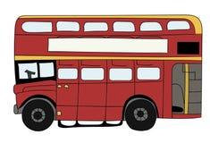 Brytyjski dwoistego decker autobus Obraz Royalty Free