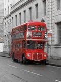 Brytyjski dwoistego decker autobus Obrazy Royalty Free