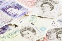 Brytyjski funt fotografia royalty free
