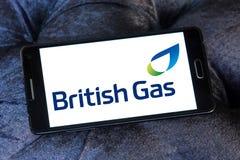 Brytyjski gazu logo Obraz Royalty Free