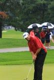 Brytyjski golfista Lee Westwood Obrazy Stock