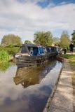 Brytyjski Kanałowy Narrowboat Fotografia Stock