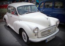 Brytyjski Morris nieletni 1000 samochód fotografia stock