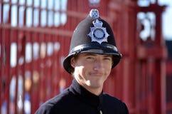 brytyjski oficer policji Obraz Royalty Free