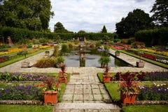Brytyjski ogród Zdjęcia Royalty Free