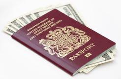 brytyjski paszport Obrazy Royalty Free