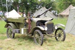 Brytyjski pojazd wojskowy Zdjęcia Stock