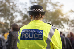 Brytyjski policja obraz royalty free