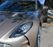 Brytyjski Supercar headlamp Zdjęcia Stock