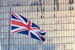 Brytyjski zjednoczenie - Chorągwiany latanie Fotografia Royalty Free
