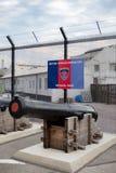 Brytyjski Zmusza Gibraltar HM Morska baza zdjęcia stock