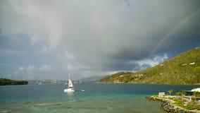 Brytyjskie Dziewicze wyspy BVI Zdjęcia Royalty Free