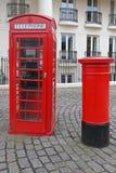 Brytyjskie ikony Obrazy Royalty Free