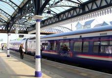 Brytyjskie stacje kolejowe Zdjęcia Royalty Free
