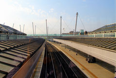 Brytyjskie stacje kolejowe Zdjęcie Stock