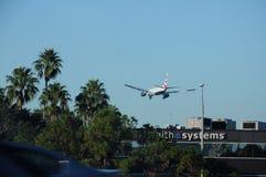 BRYTYJSKIEJ drogi oddechowe samolotu lądowanie W TEMPA FLORYDA usa Obrazy Royalty Free