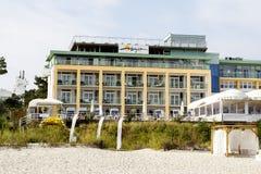 Bryza,豪华旅馆在Jurata 免版税库存照片
