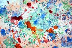 Bryzga kolorowego pastelowego tło, abstrakcjonistyczna kolorowa tekstura Obrazy Stock