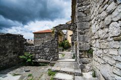 Brzęczenie, Istria, Chorwacja fotografia royalty free