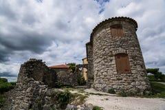 Brzęczenie, Istria, Chorwacja obrazy stock