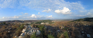 Brzęczenia Ela dolina, Izrael Obrazy Royalty Free