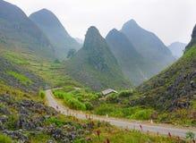 Brzęczenia Giang górzysty region w Wietnam Obrazy Stock