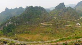 Brzęczenia Giang górzysty region w Wietnam Obraz Stock