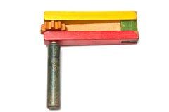 brzęku drewniany zabawkarski Fotografia Stock
