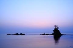 Brzask przy Amaharashi wybrzeżem Fotografia Royalty Free