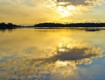 brzasku błękitny wzgórze Maine Fotografia Royalty Free