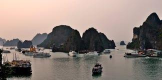 Brzęczenia Tęsk zatoka w Wietnam Zdjęcia Royalty Free