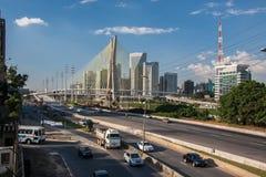 Brzeżny Pinheiros Sao Paulo Brazylia Obrazy Stock