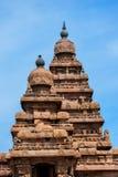 Brzeg świątynia, Mahabalipuram, tamil, Nadu, India Zdjęcie Royalty Free