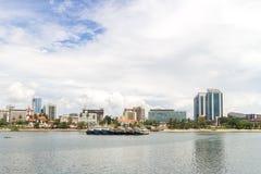 Brzeg Dar es Salaam Zdjęcie Royalty Free