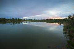 Brzeg jeziora 03 Fotografia Royalty Free