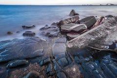 Brzeg Jeziorny przełożony Zdjęcia Royalty Free