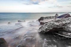 Brzeg Jeziorny przełożony Zdjęcia Stock