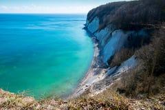 Brzeg morze bałtyckie Rugen wyspa Fotografia Stock