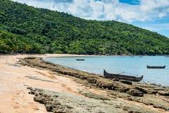 Brzeg Nosaty Był wyspą w Madagascar, Afryka Obraz Royalty Free