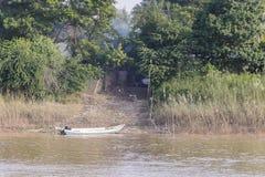 Brzeg rzeka Obraz Stock