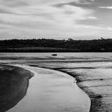 Brzeg rzeki Obrazy Royalty Free
